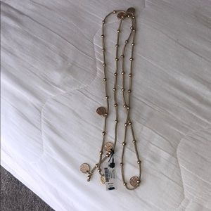 WHBM wrap necklace